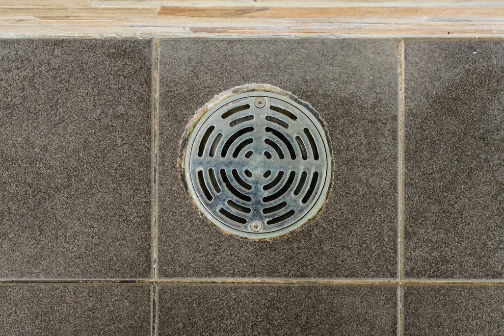 Floor drain backs up