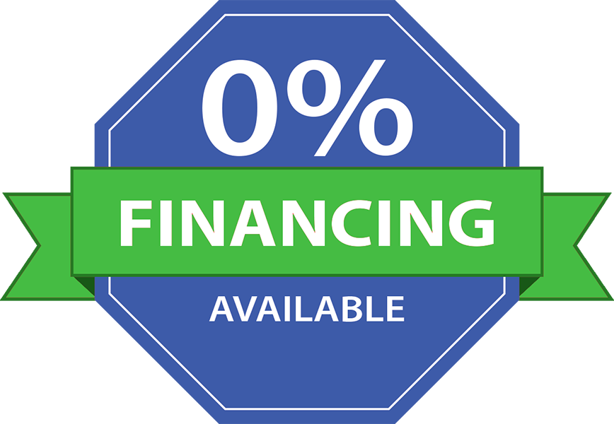 Low Interest Rate Financing Available